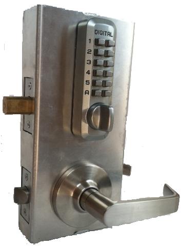 Lockey Keyless Gate Lock Kit Gb210 Dc Plus