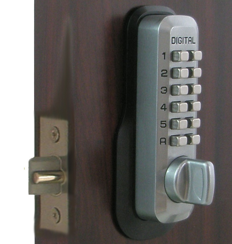 Lockey M230dc Keyless Mechanical Digital Double Sided