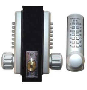lockey 3210dc keyless mechanical digital double sided combination deadbolt door lock