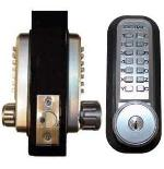 Lockey 2230DC KO Mechanical Digital Double Sided Combination Spring Latch Door Lock With Key Override