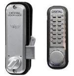 Lockey 2500 Keyless Mechanical Digital Sliding Door Lock