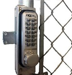 Lockey GB2900-LINX Chainlink Gate Box for 2900 and 2950 Locks