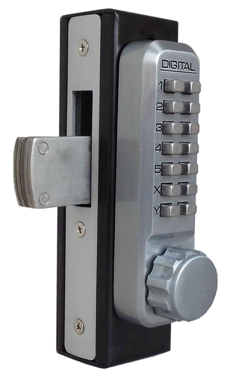 Lockey 2900DC Keyless Mechanical Digital Mortised Deadbolt Double Sided Door Lock