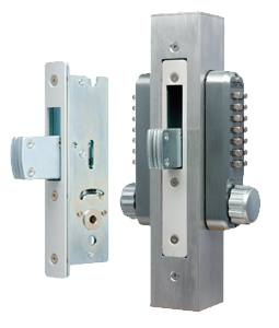 Lockey 2900DC Keyless Mechanical Digital Mortised Deadbolt Double Sided Doo.