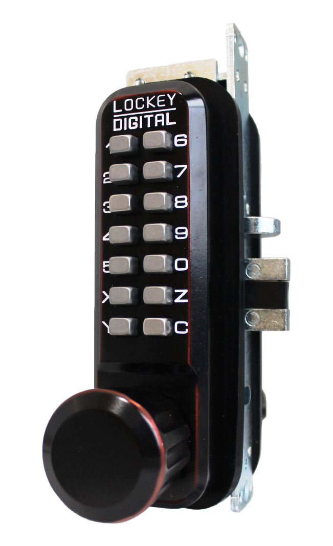 Keyless Deadbolt LockeyUSA 2210-OB 2210OIL Mechanical