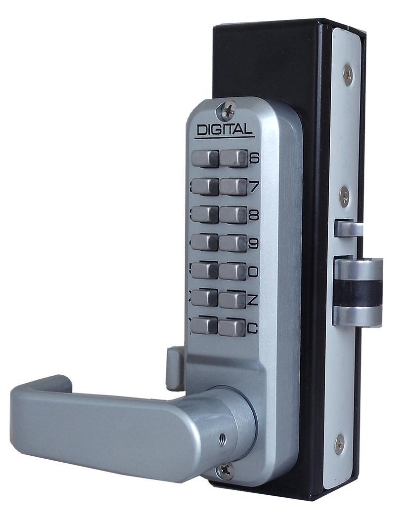 Lockey 2985dc Mg Keyless Mechanical Digital Adams Rite