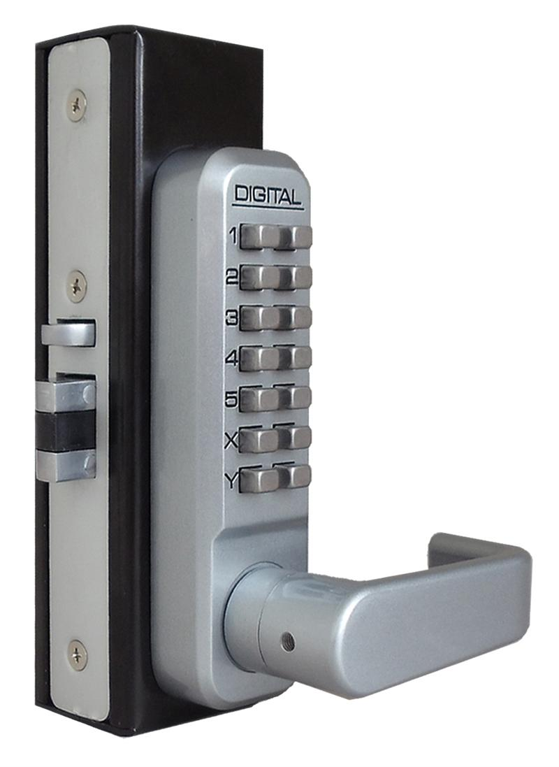 Lockey 2985DC Keyless Mechanical Digital Adams Rite Style Latch Double Sided Door Lock