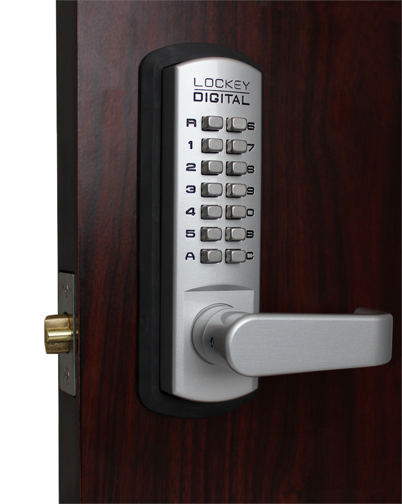 Lockey 3835DC Keyless Double Sided Mechanical Passage Lever Lock