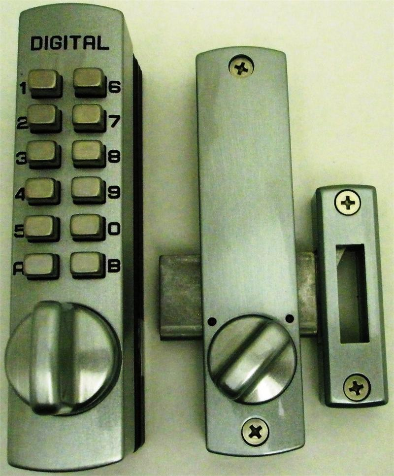 Digital Sliding Glass Door Lock: Lockey C150 Keyless Mechanical Digital Cabinet Or Sliding
