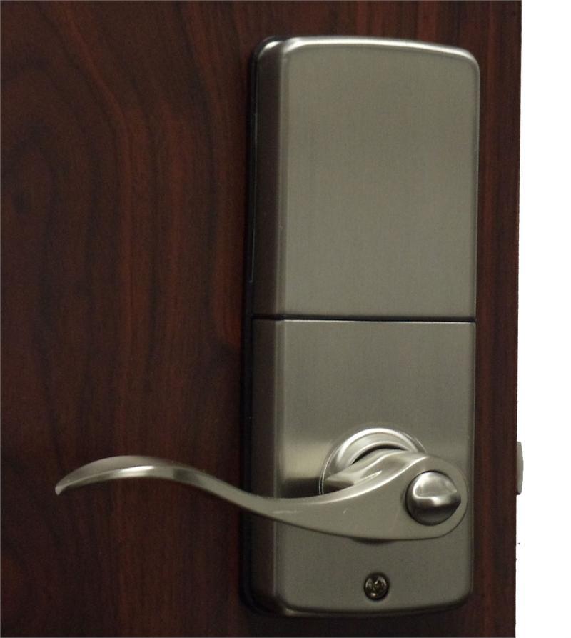 Perfect Lockey E 930R E Digital Keyless Electronic Knob Door Lock With Remote  Lockey E 930R Satin Nickel Inside