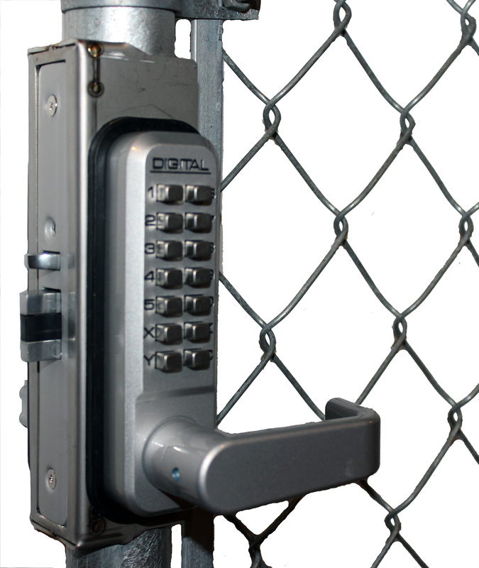 Lockey GB2900-LINX Chainlink Gate Box for 2900, 2930, 2945, 2950, and 2985 Series Locks