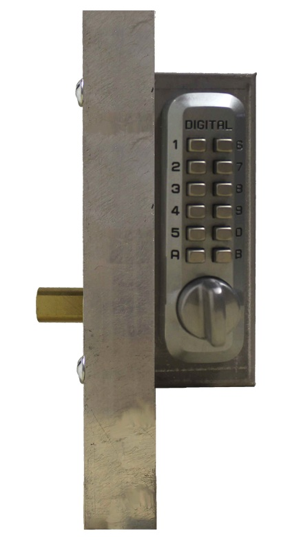 Lockey M210 Deadbolt Add-A-Bolt Gate Box Kit
