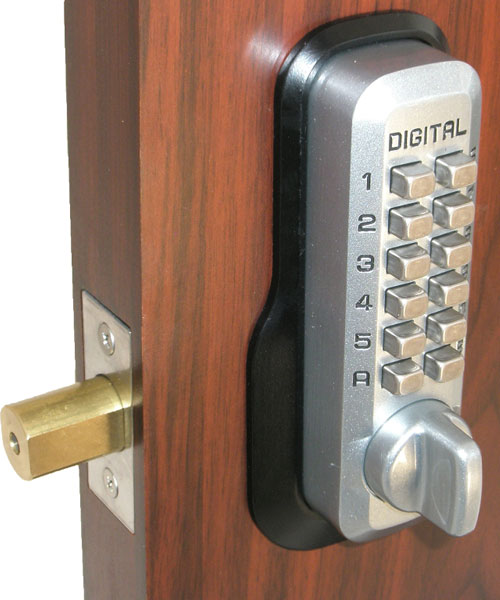 Lockey M210 MG Keyless Mechanical Digital Deadbolt Door Lock
