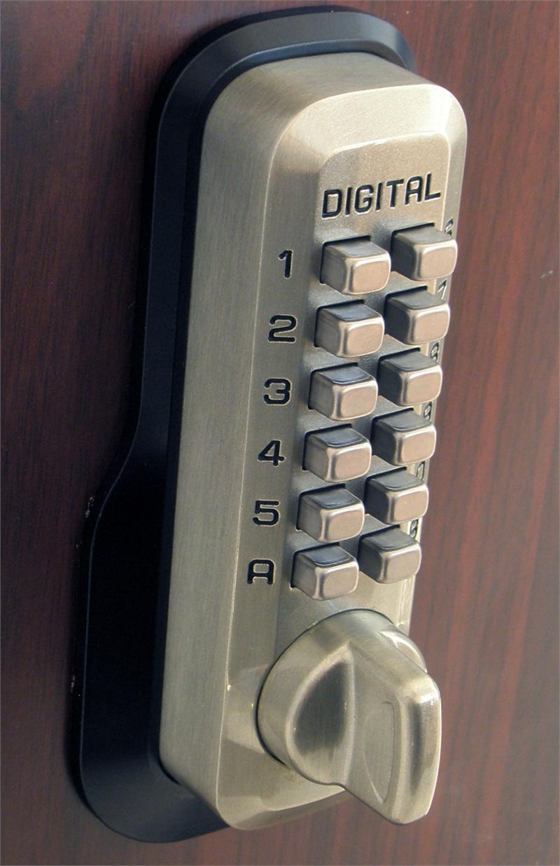 Lockey M230dc Keyless Mechanical Digital Double Sided