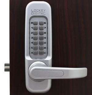 Lockey 1150 MG Keyless Mechanical Digital Spring Latch Door Lock