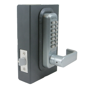 Lockey 2835 Keyless Mechanical Digital Spring Latch Door Lock