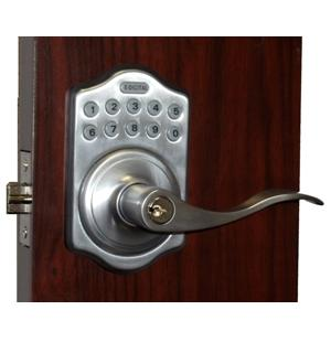 Lockey E-985R E-Digital Keyless Electronic Lever Door Lock with Remote