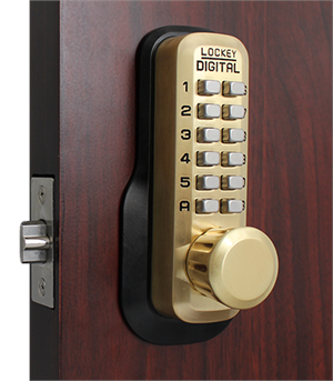 Lockey M230DC Satin Brass