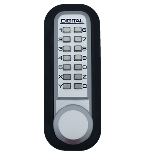 Lockey 2830 Keyless Mechanical Digital Spring Latch Knob Lock