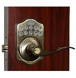 Lockey E985R Antique Brass Outside
