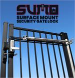 Lockey SUMO GL2 Surface Mount Gate Lock with TB200 Gate Closer